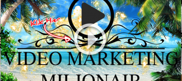 Video Marketing Miljonair Eric Dieperink